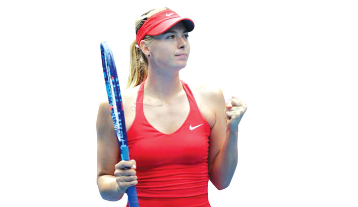 Sharapova Undergoes 'Procedure' On Shoulder