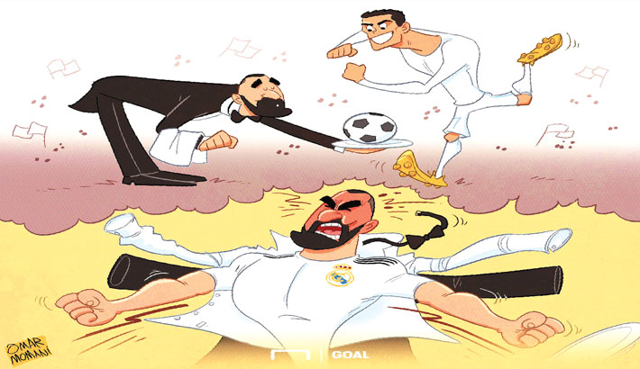 Played Second Fiddle to Cristiano: Benzema