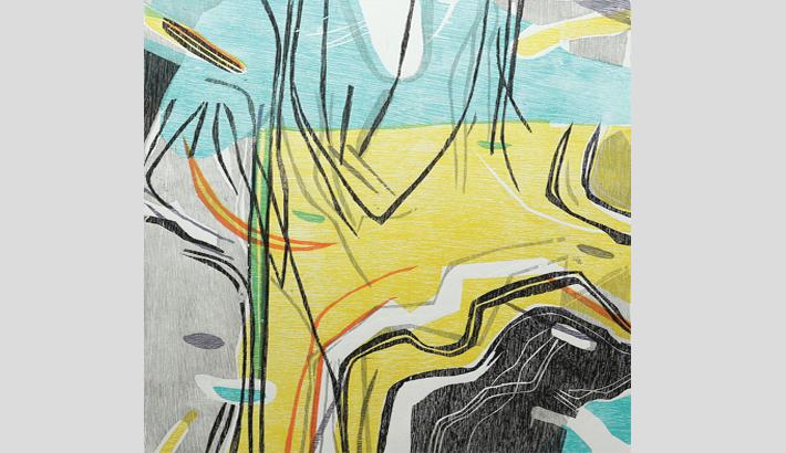Woodblock Prints On  Display At Gallery Cosmos