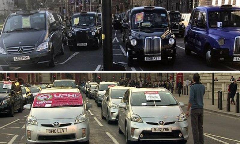 Uber drivers claim discrimination over London congestion plan