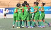 Bangladesh girls qualify for AFC U-16 final round beating Myanmar by 1-0