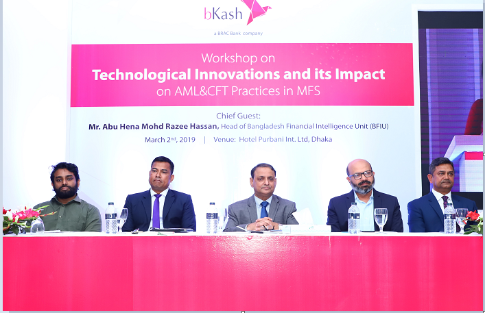 """workshop on """"Technological innovations and its impact on AML&CFT Practices in MFS"""""""