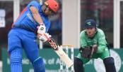Zazai blitz helps Afghanistan to 250-7 in rain-hit ODI