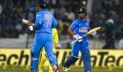 Jadhav, Dhoni put India 1-0 up against Australia