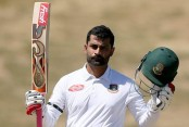 Tigers bat against Kiwis in 1st Test of Day 3
