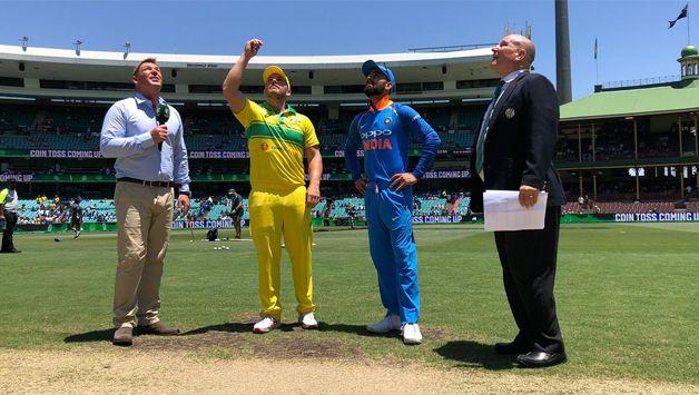Australia win toss, opt to bat against India in 1st ODI