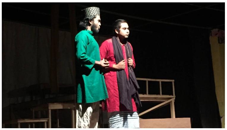 'Chilekothar Sepai' staged at JU