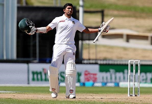 Soumya hits maiden Test ton