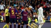Barcelona beat Real Madrid to edge closer to La Liga title