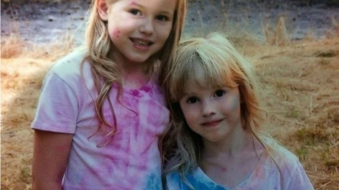 Missing  sisters found safe in California woodland