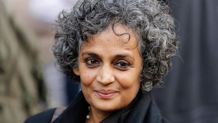 Arundhati Roy's talk now at a new venue
