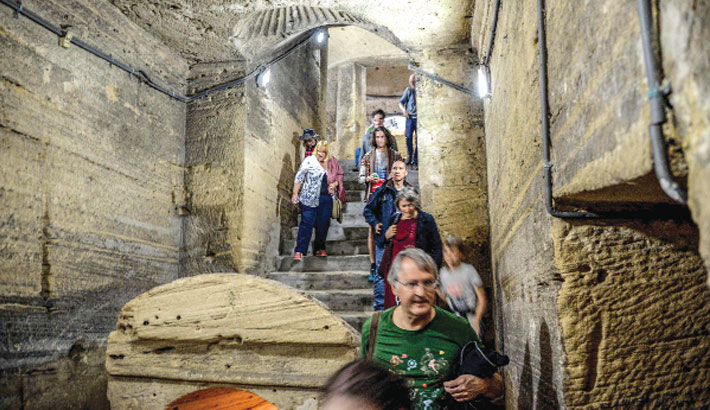 Egypt rescues 2,000-year-old catacombs from rising water