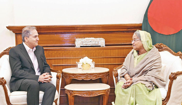 Renowned Indian cardiologist Dr Devi Shetty calls on Prime Minister Sheikh Hasina