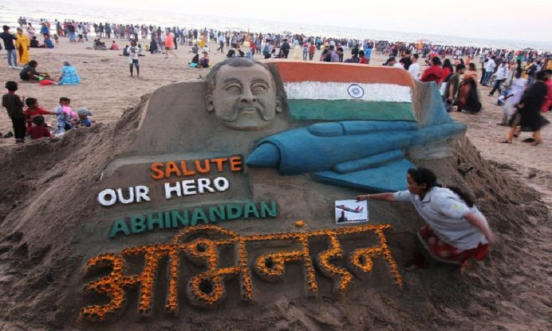 Abhinandan: Indians emulate pilot's 'hero moustache'