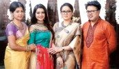 Four artistes together in a Women's Day drama