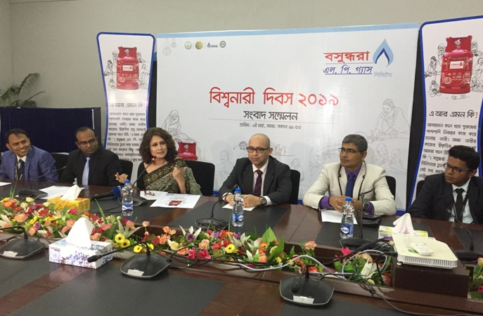 Bashundhara LP Gas Ltd launches new cylinders in honour of women