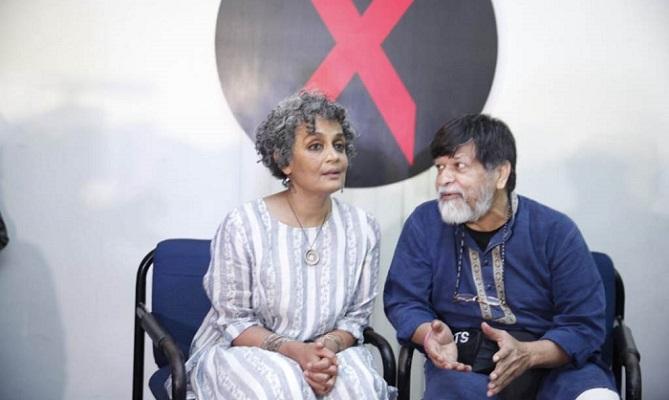 Arundhati Roy's talk held at Midas center