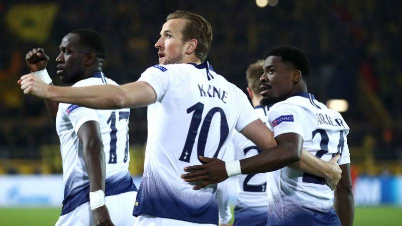 Kane fires Spurs into Champions League quarter-finals