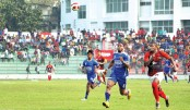 Bashundhara Kings lead table edging past Sk Russel