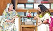 European Union ambassador to Bangladesh Rensje Teerink calls on Prime Minister Sheikh Hasina