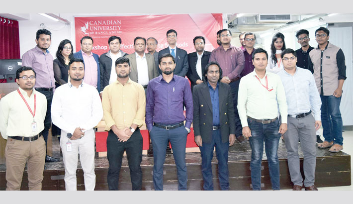 Workshop on effective teaching methods held at CUB