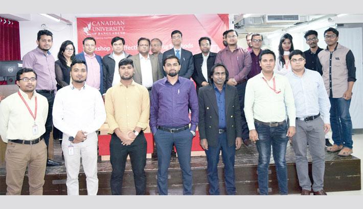 Workshop on effective teaching methods held at CUB