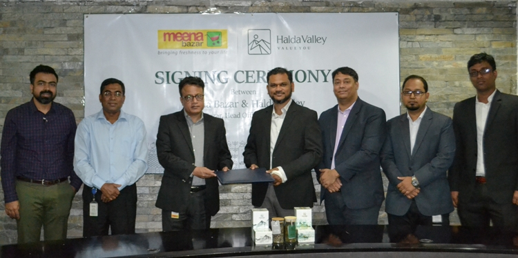 Meena Bazar signs deal with Halda Valley