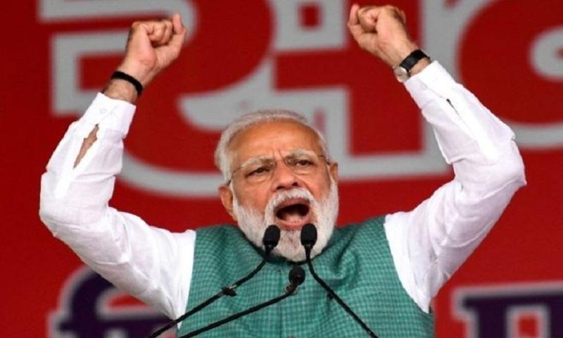 'War' and India PM Modi's muscular strongman image