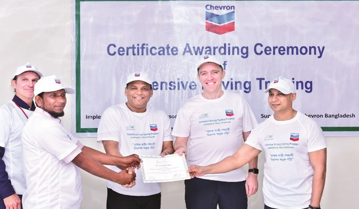Chevron inaugurates road safety awareness programme
