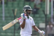 Tamim 'fully fit' to play Wellington Test
