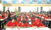 Mental Arithmetic Competition Held For The Children