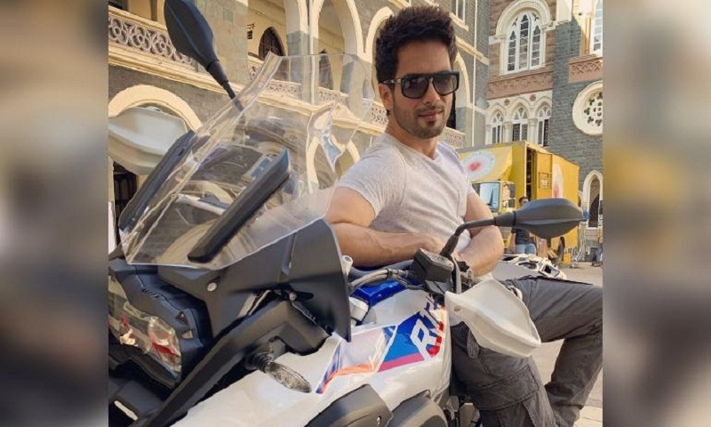 Shahid Kapoor buys Rs 18.25 lakh adventure bike