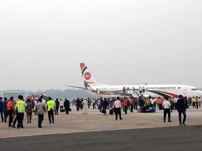 Security at all airports tightened after 'Biman aircraft hijacking bid'