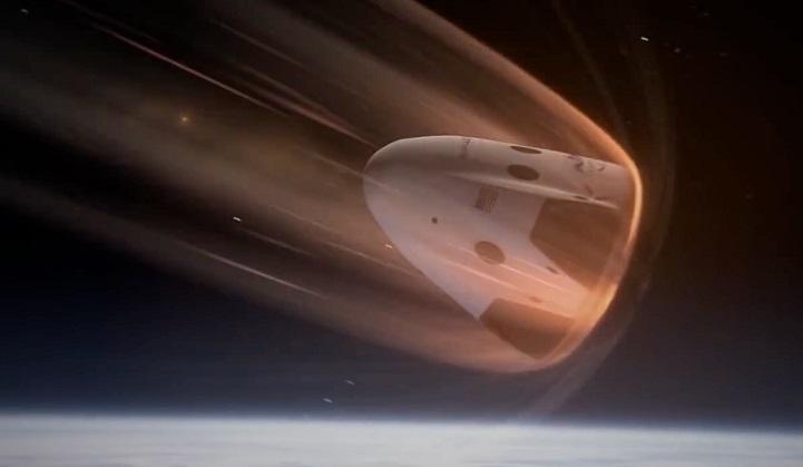 SpaceX Dragon capsule splashes down in Atlantic Ocean: NASA