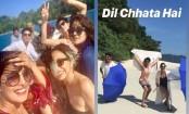 Priyanka Chopra, Farhan Akhtar reach Andamans for The Sky Is Pink shoot