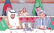 Bangladesh, KSA sign 2 deals; 4 MoUs