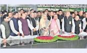 PM pays tribute to Bangabandhu