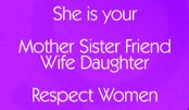 Start from Family: Respect  Your Counterpart!