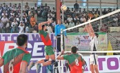 I-day Volleyball begins