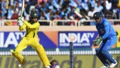 Khawaja ton guides Australia to 313-5 in 3rd India ODI