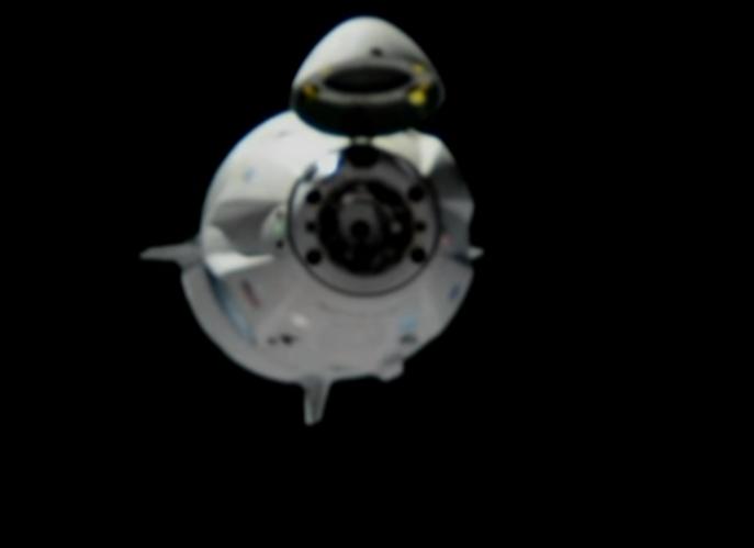 SpaceX crew capsule departs station for Atlantic splashdown