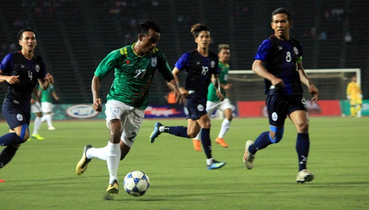 Bangladesh beat Cambodia by 1-0 in international friendly