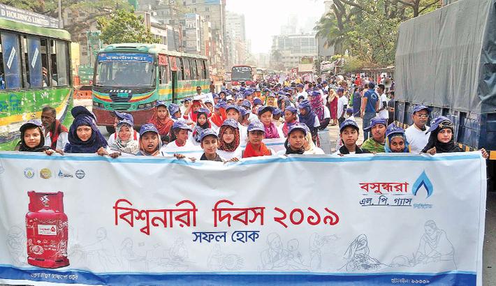 Bashundhara LPG celebrates Women's Day