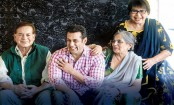 Salman Khan celebrates Women's Day with mothers Salma Khan and Helen