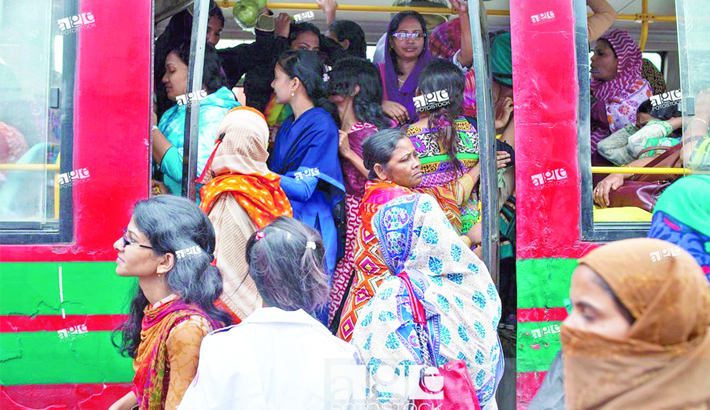 Adequate buses required for women's safety