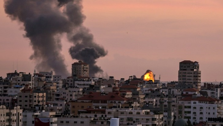 Israel strikes Hamas targets in Gaza over rocket: army