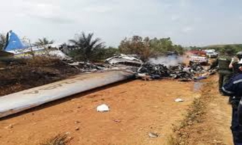 Plane crash in central Colombia kills 14
