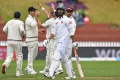 Bangladesh all out for 211 in first innings against New Zealand