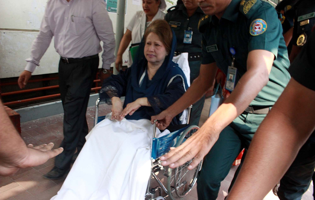 Preparations underway to take Khaleda to BSMMU