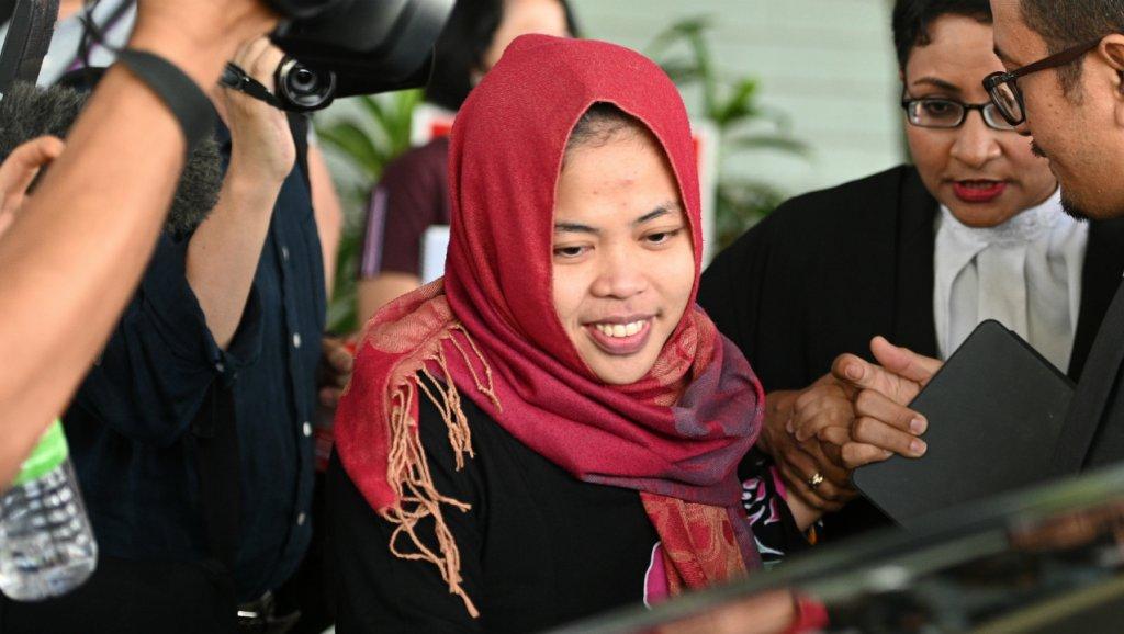 Kim Jong-nam: Indonesian woman freed in murder case